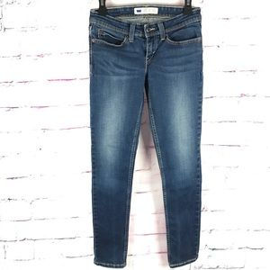 LEVI's DEMI CURVE Faded Jeans